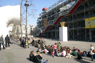 Image of Centre Georges Pompidou.