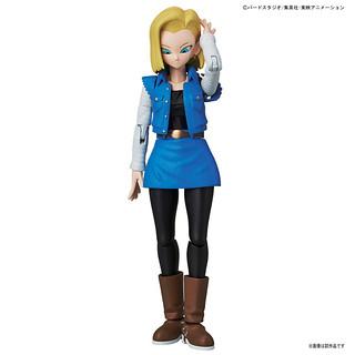 【完整官圖、販售資訊更新】Figure-rise Standard【七龍珠Z:人造人18 號】人造人間18 号