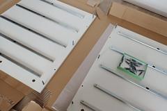 IKEAの架台でワークデスクを作る。