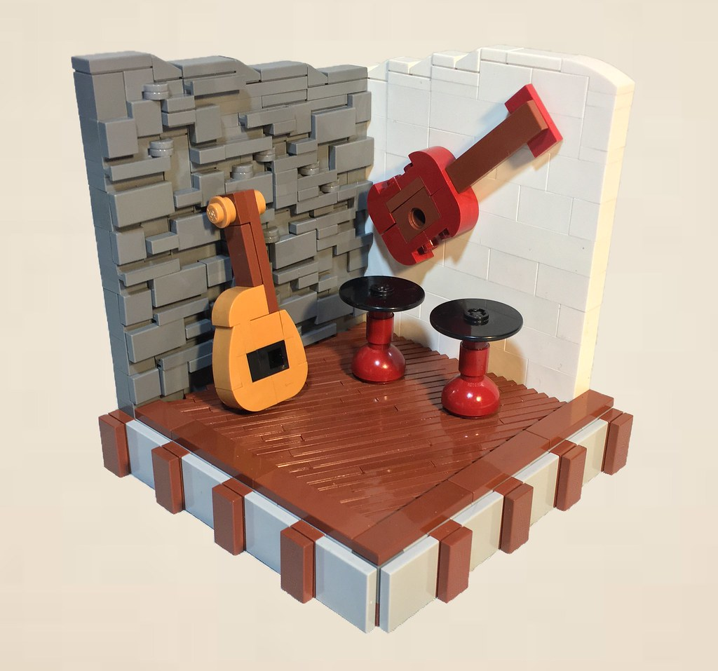 Jam Session (custom built Lego model)