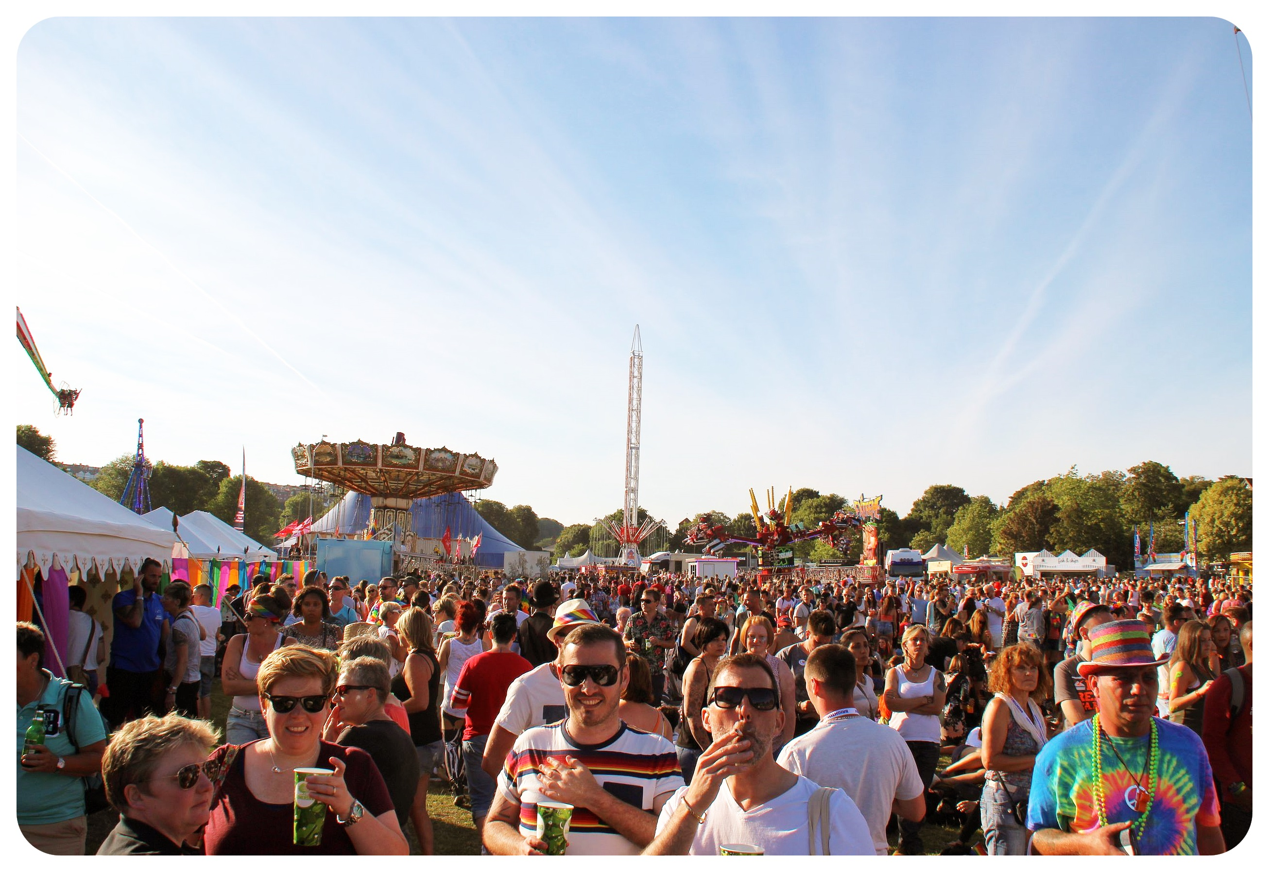 brighton pride festival grounds