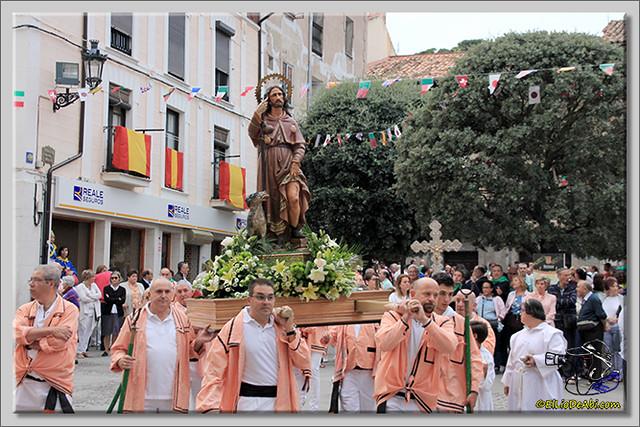 Briviesca en Fiestas 2.015 Procesión del Rosario y canto popular de la Salve (12)