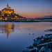 Mont Saint-michel reflection by A.S photographie