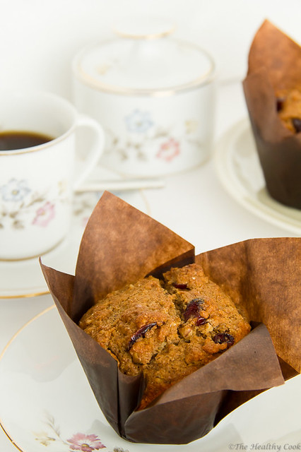 Dried Fruit Muffins (St. Fanourios Cake)  –  Φανουρόπιτα /κια