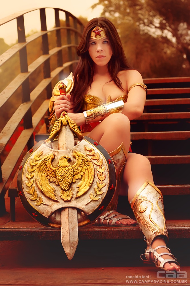 Wonder Woman Cosplay - cosplay photography by CAA Ronaldo Ichi