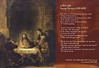 Q Combination 1: Rembrandt's Christ at Emmaus & George Herbert's Love (III)