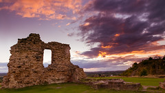 Summer evening at Sandal Castle(2)