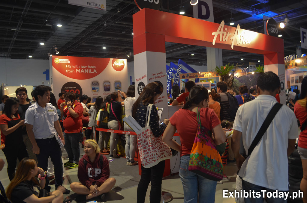 Air Asia Exhibit Stand