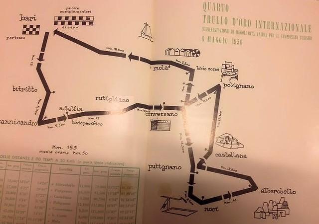 Rutigliano-5° Rally dei Trulli - percorso