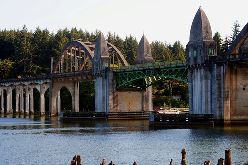 Florence Oregon Harbor Bridge