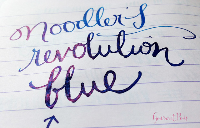 Ink Shot Review Noodler's Revolution Blue @GoldspotPens @CarolLuxury (8)