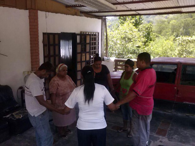 Casas de Oración: Charallave, estado Miranda 04-10-15