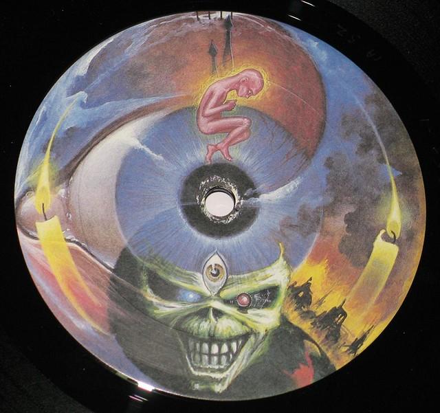 """IRON MAIDEN SEVENTH SON OF A SEVENTH SON Canada 12"""" Vinyl LP"""
