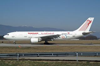 """Tunisair  Airbus A300B4-605R TS-IPC """"Amilcar"""""""