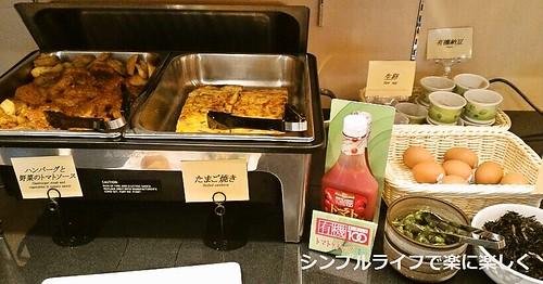 東京ホテル、朝食3日目おかず