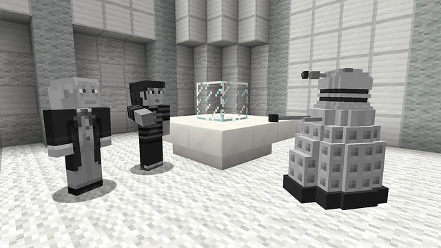 Minecraft DLC de skins del Doctor Who