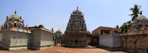 9.Andal Perumal and Thayar shrines
