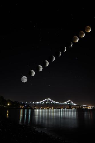 2015 09 27 Lunar Eclipse by Royston Kane  via I {heart} Rhody