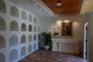 Santa Barbara - Santa Barbara Mission mausoleum