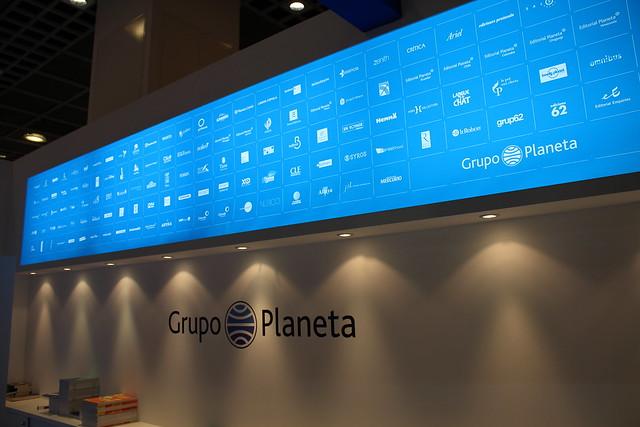 Grupo Planeta - Frankfurt Buchmesse 2015