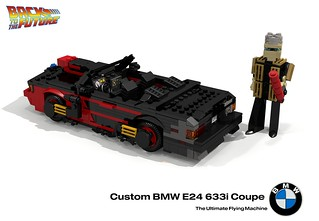 Custom BMW 633 CSi Convertible (Back to the Future II)