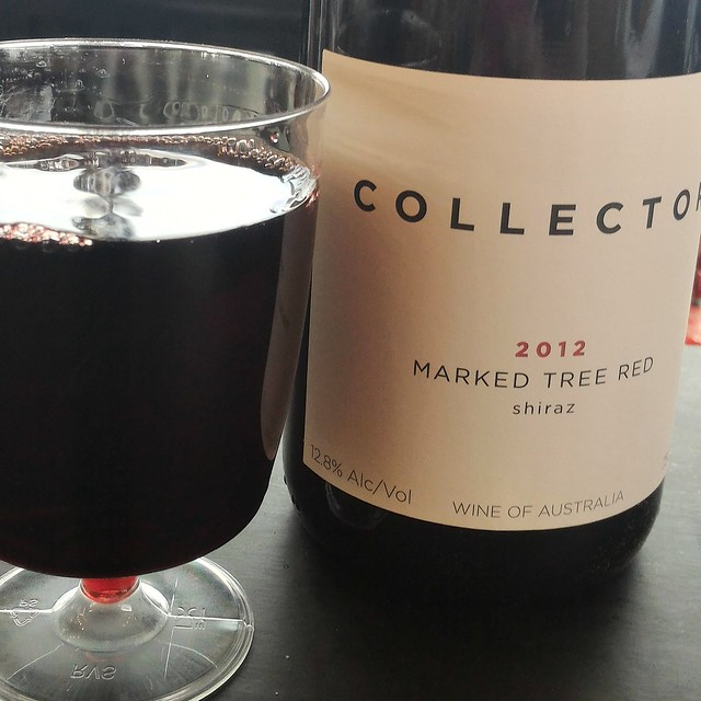 collector marked tree red shiraz 2012