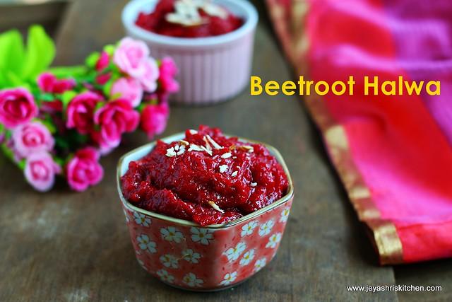 Beetroot- halwa