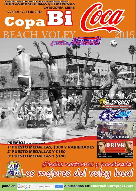 AFICHE BICOCA 2015 DE BEACH