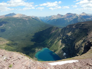 Forum lake from Akamina ridge - Waterton lakes national park