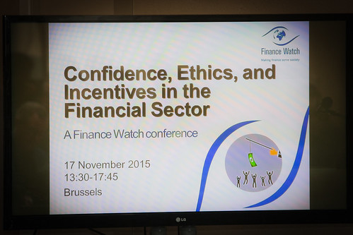 Finance Watch Conference, November 2015