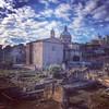 Ancient ruins #forumrano #discoverrome #instaroma #travelrome