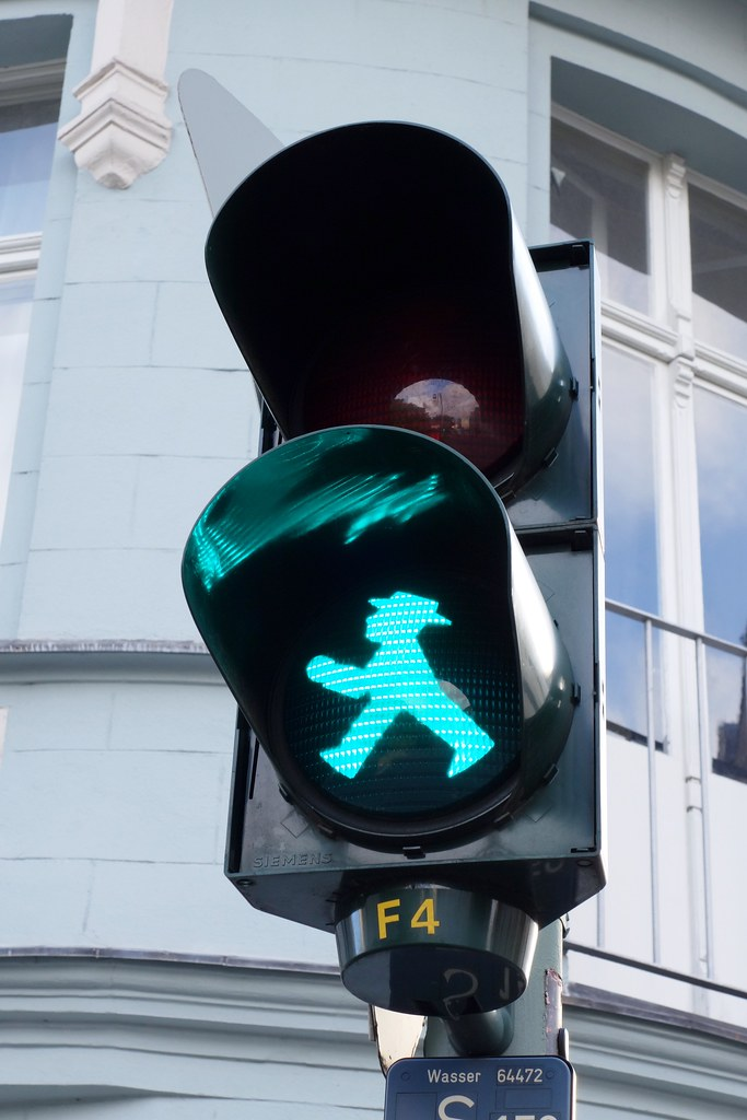 Ampelmann in action