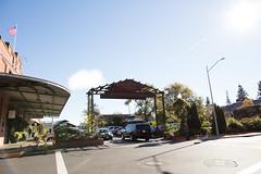 Napa River Inn front entrance