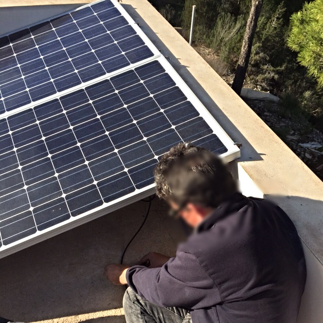alarma energia solar