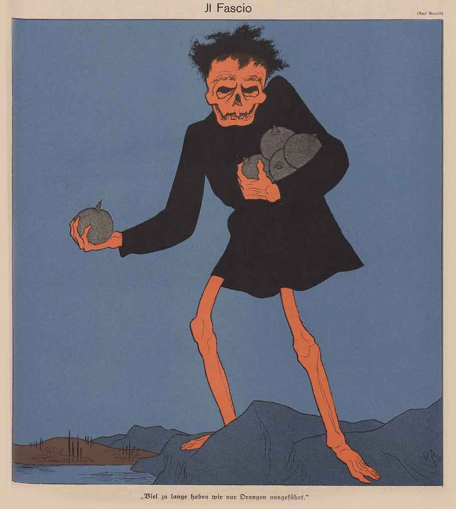 Karl Arnold - Il Fascio, 1926