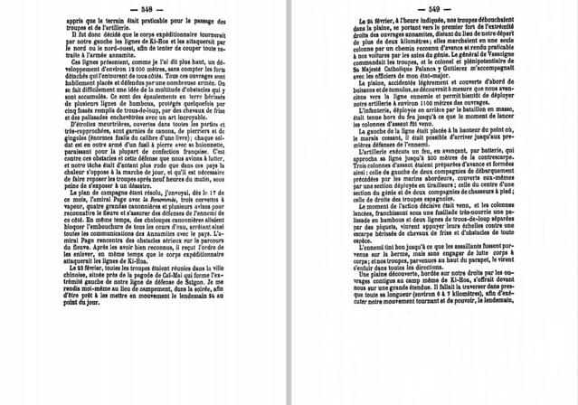 P548-549 Cuộc viễn chinh Nam Kỳ - Chiếm đồn Kỳ Hòa
