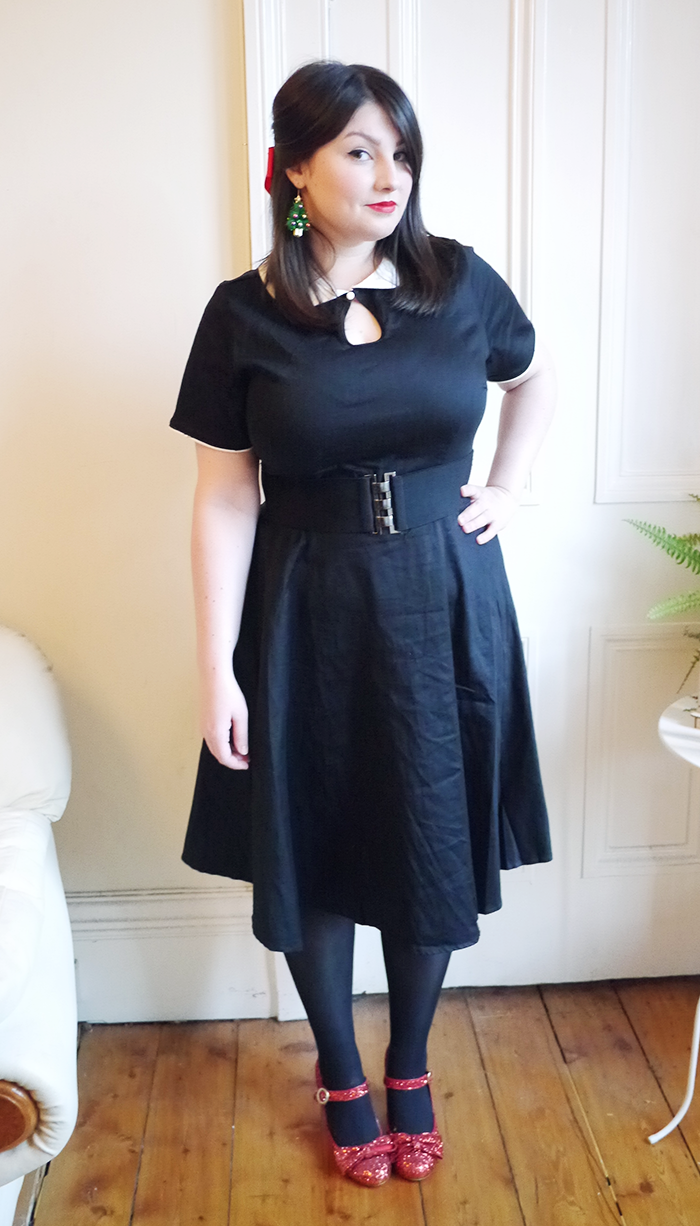 dolly and dotty vintage dress outfit 1