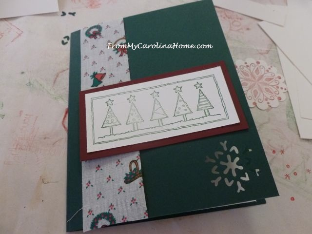 Stamping Christmas | From My Carolina Home