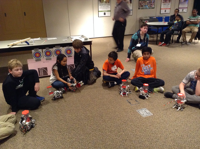 Robots ready to joust
