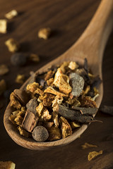 Raw Organic Dry Mulling Spices