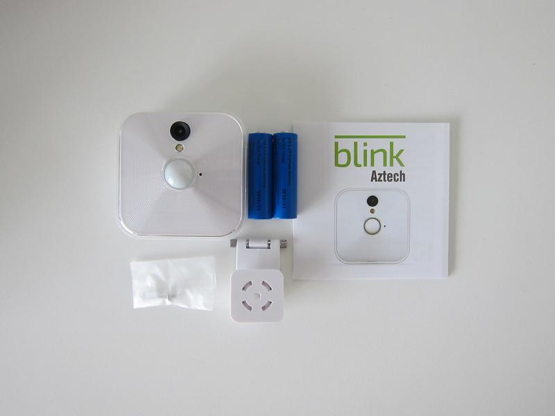 Blink Camera - Box Contents