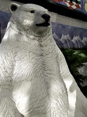 Giant Resin Polar Bear