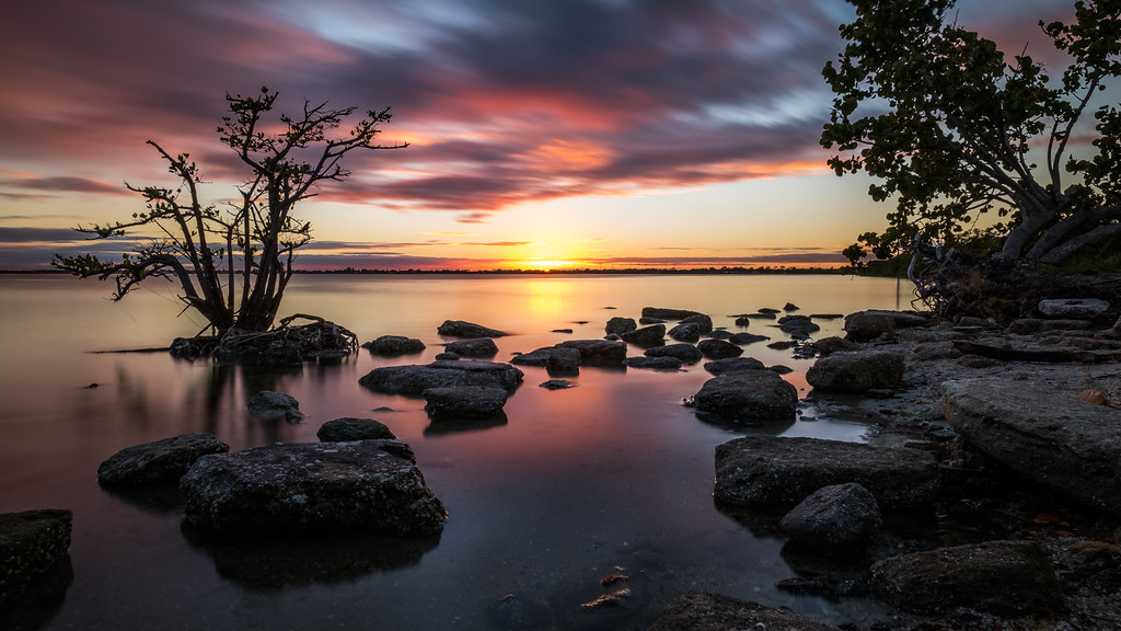 Sunset in Merritt Island, Florida, United States picture