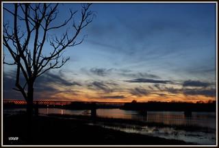 Couché de Vénus sur Loire