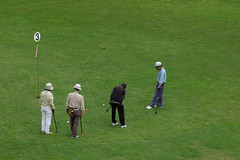 pitch and putt, sports, recreation, outdoor recreation, competition event, golf club, fourball, golf, golfer, ball game, grassland, tournament,
