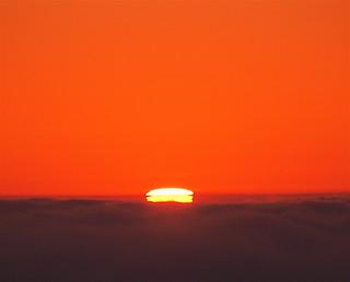 Last bit of Sun