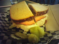 My lunch at the Roadhouse Cafe