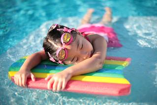 Give me a break...in the pool
