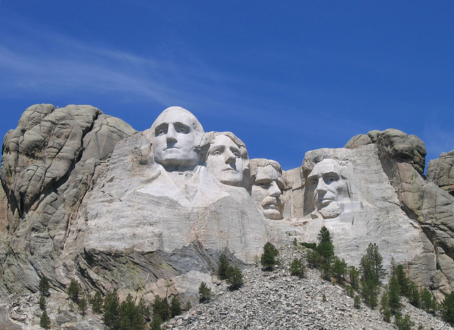 Mount Rushmore by CC user liz on Flickr