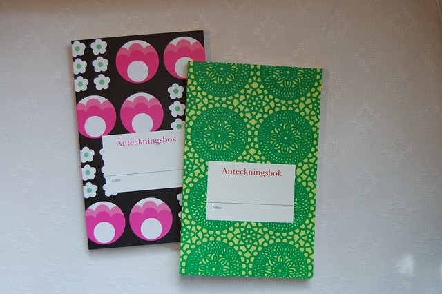 Anteckningsböcker // Notebooks from Swedish Pocketshop - photographed by iHanna